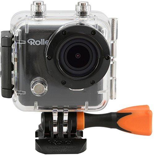 [Amazon] Rollei Actioncam 400 mit Handgelenk-Fernbedienung (3 Megapixel, Full HD Video, 1080p, WiFi Funktion) inkl. Unterwassergehäuse schwarz