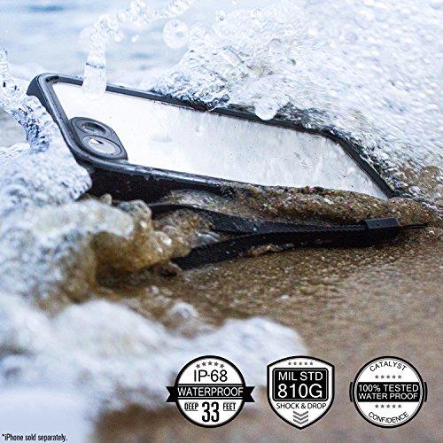 Catalyst Case für iPhone 7, schwarz (wasserdicht, Stoß- und Staubschutz)