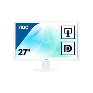 AOC I2770PQ​ Monitor (27'' IPS PLS matt, 250cd/​m², 1.000:1, 6ms, HDMI + DP + DVI + VGA, Pivot, Matt)