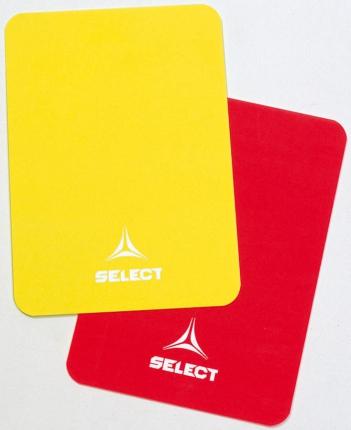 Schiedsrichter-Karten rot & gelb für 1,95€ inkl. Versand [Sportbedarf.de]