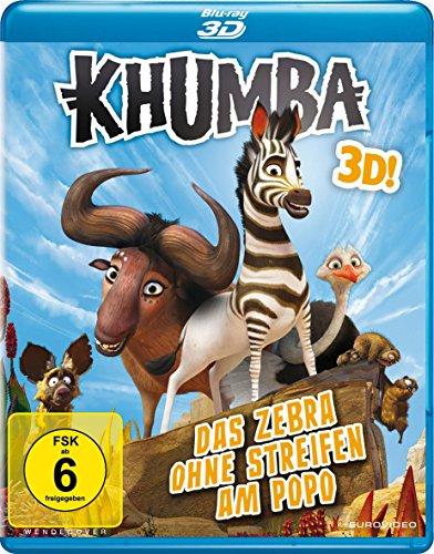 [Amazon Prime] Khumba - Das Zebra ohne Streifen am Popo [3D Blu-ray]