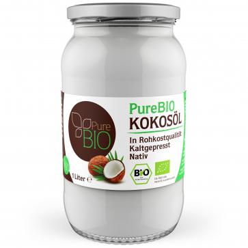 [Endorado] PureBIO Kokosöl 6 x 1000ml inkl. Versand für 44,98 EUR (7,49 EUR/1000ml)