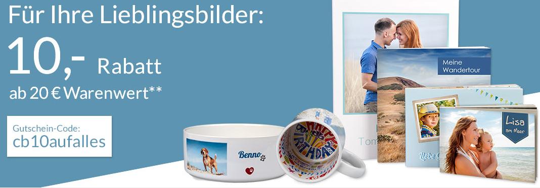 10€ auf Fotobücher & Fotos von Pixelnet sparen, MBW: 20€