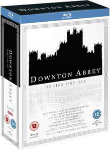 Downton Abbey - Staffel 1-6 (Blu-ray) (OT) für 26,65€ (Zavvi)
