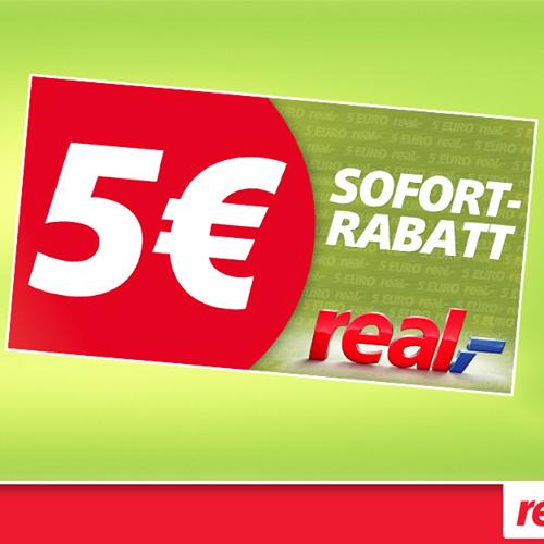 [Real] 5€ Sofortrabatt ab 50€ Einkaufswert am 19.-20. Mai 2017