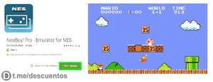 [Android] NesBoy! Pro - Emulator for NES (Nintendo Entertainment System) 0,00€ statt 1,99€