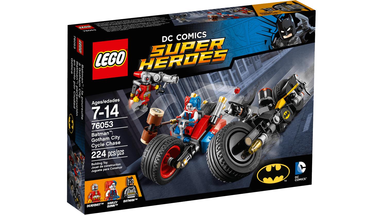 [lokal Spielzeugland Schönhauser Allee Arcaden Berlin] Lego 76053 Batcycle-Verfolgungsjagd in Gotham City für 12,99€