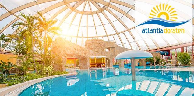 Erlebnis Spaßbad Atlantis mit Menü [LOKAL - DORSTEN]