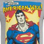 """""""Truth, Justice and the American Way"""" - Superman Shirt für 4,99 €"""