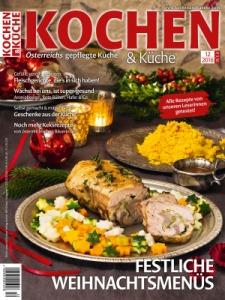 """Für Österreicher - """"Kochen & Küche"""" Probeheft gratis ( unverbindlich) - Deutschland plus 2 € Porto"""