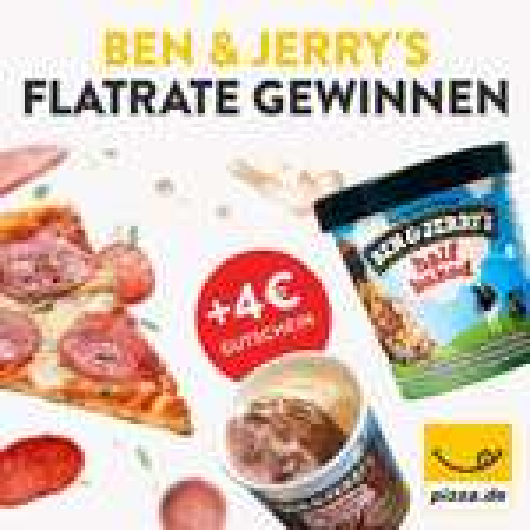 4€ Pizza.de Gutschein bei 8€ MBW (Neu- und Bestandskunden)