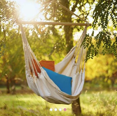 Summer Splash: 30% Rabatt auf Gartenmöbel bei Butlers, z.B. Hängesessel Monkey, 26,89€ inkl. Versand statt 35,89€