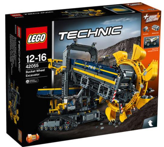 13% Rabatt auf Lego bei [GALERIA Kaufhof] z.B. Lego Technic Schaufelradbagger 42055 für 134,84€