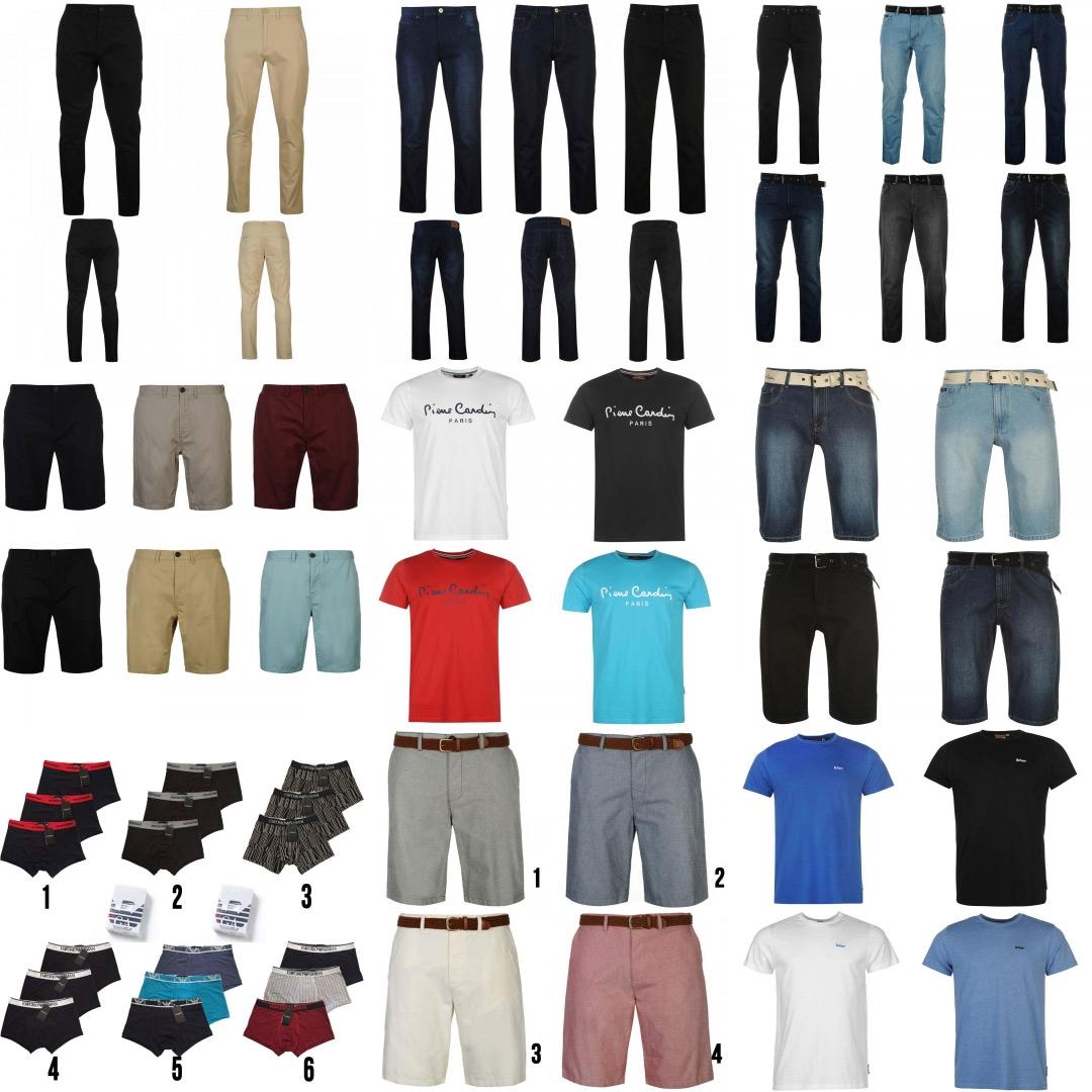 Marken Sale, Lee Cooper, Pierre Cardin, Jeans, T-Shirts, Shorts, Sneaker