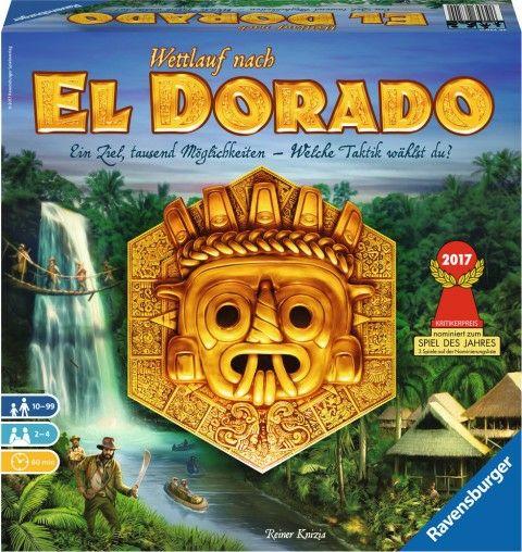 (Hugendubel) Wettlauf nach El Dorado Gesellschaftsspiel