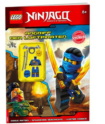 Lego-Bücher im Sale + versandkostenfreie Lieferung bei [Terrashop] z.B. Lego Ninjago Angriff der Luftpiraten mit Minifigur für 3,99€ statt 7,99€