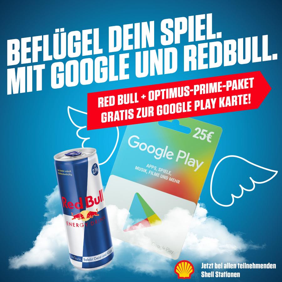GooglePlay bei Shell