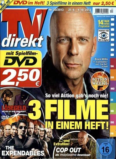 [TV Direkt Magazin] inkl. 3 DVD Filme für 2,50 €