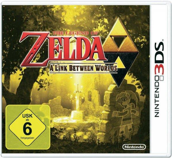 Zelda - A Link between Worlds 3DS für 33,40 € vorbestellbar. UPDATE: Voelkner.de