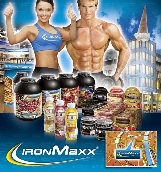 Iron Maxx 20% Rabatt auf das ganze Sortiment im November !
