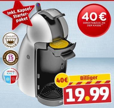 [PENNY] De Longhi Dolce Gusto Piccolo - Kapsel-Kaffeemaschine ab 02.12.13