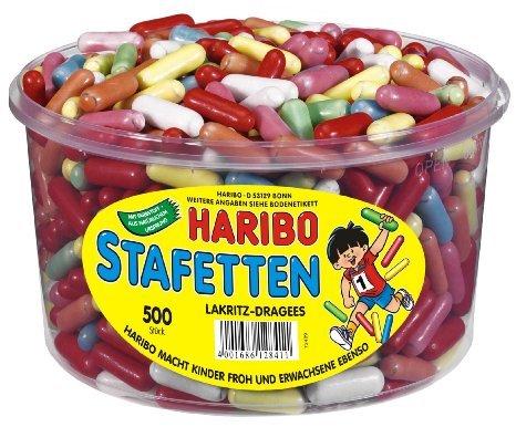 About Tea: Haribo Stafetten  1144g für 2,90 € & Haribo Lasso 3,5 Kg für 7,50 € + 3,99 € Versand
