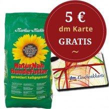 Markus Mühle Hundefutter 15kg +gratis 5€ dm Gutschein