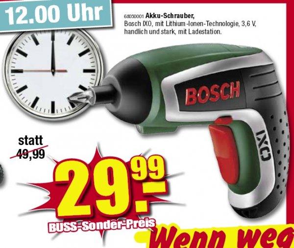 Bosch IXO IV - Möbel Buss Wiesmoor (nur 31.05.)