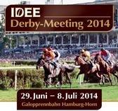 (Hamburg-Horn) Deutsches Derby 2014: Kostenlose Stehplatz-Tickets an 4 von 7 Renntagen (regulär € 13-17) 29.06.2014 bis 08.07.2014