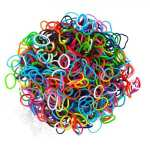 """3000 Colourful LOOM BANDZ with 125 """"S"""" Clips & Hook 5,99 € Kostenlose Lieferung"""