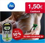 Procter & Gamble Sparcoupons auf for-me-online ausdrucken und 1,50€ Cashback erhalten