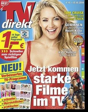 TVdirekt + 5 EUR Amazon/dm Gutschein für nur 3,90 EUR