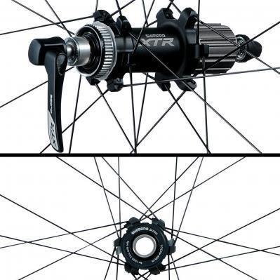 (Stadler) Shimano XTR MTB Laufradsatz WH-M985 2014 (26 Zoll) 353,35€