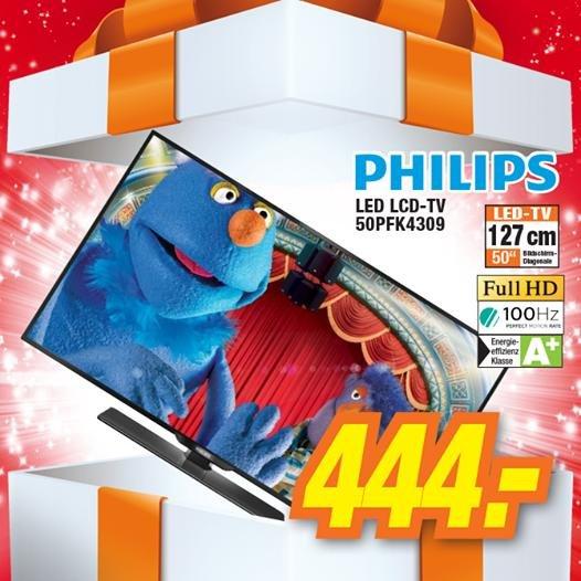50 Zoll Philips LED TV beim Elektroland in Heidenheim (lokal)