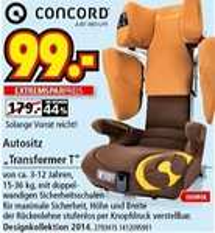 [Lokal] Concord Transformer T Kindersitz @ Segmüller