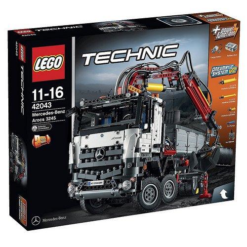 [valuebrick] Lego Technic 42043 Mercedes Benz Arocs nur 155,94€ statt 199,99€ ; Ersparnis 22%