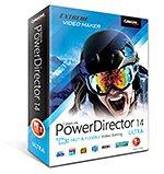 [Software] CyberLink PowerDirector 14 Ultra inkl. PhotoDirector 7 Deluxe +  Cloud 20GB (12 Monate) | BLITZANGEBOT BIS 09.03.2016
