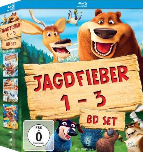 Jagdfieber 1-3 [Blu-ray] Trilogie