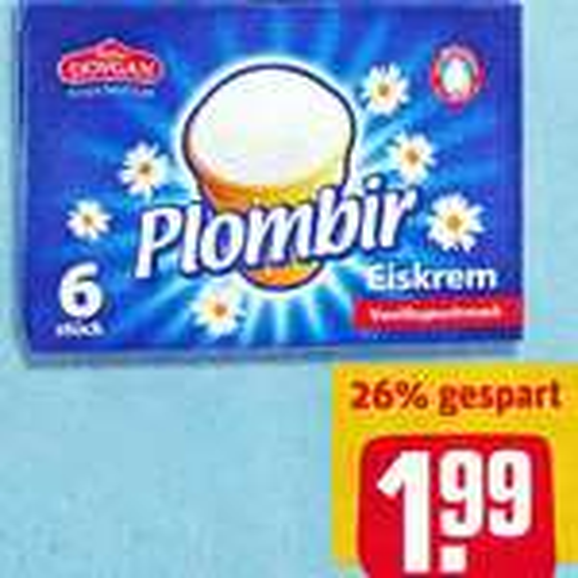 Plombir Original Eiskrem nun für nur 1,99€ bei [REWE]