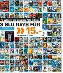 Saturn Dortmund, Bochum , Witten, Hattingen [Lokal?] 3 Blurays für 15 Euro