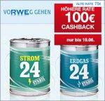(Qipu) - RWE 100€ Cashback + 100€ Gutschrift für Deinen Strom- oder Gas-Wechsel