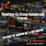 Planetkey vs. Steam Summersale