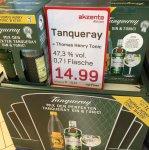[Akzenta Wuppertal] 0,7l Tanqueray Gin 47,3% + 1l Thomas Henry Tonic 14,99€