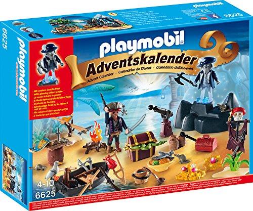 Playmobil 6625 - Adventskalender - Geheimnisvolle Piratenschatzinsel - Prime [Amazon]