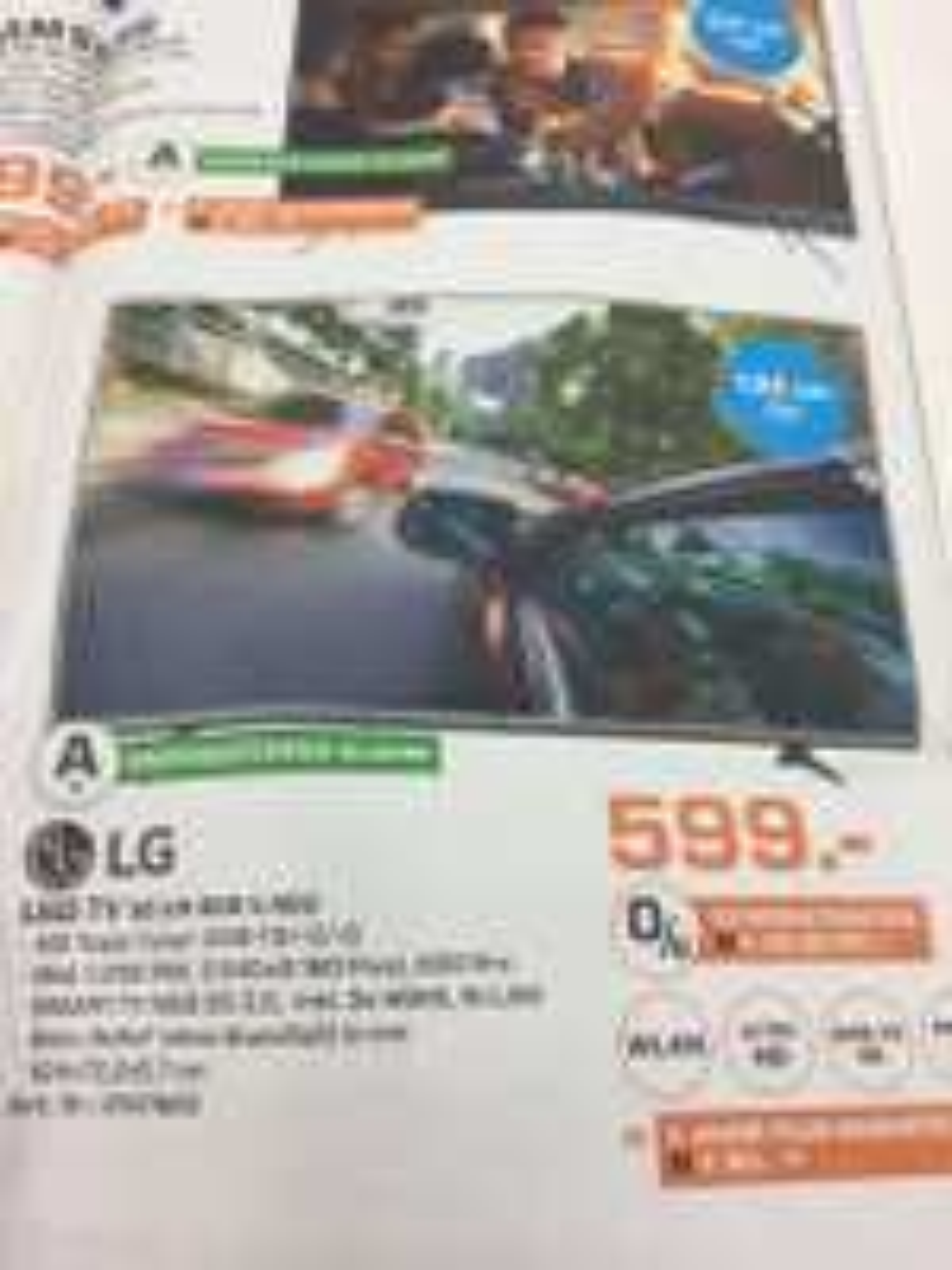 Lg 55 UH 605 4K Smart TV/Saturn Witten