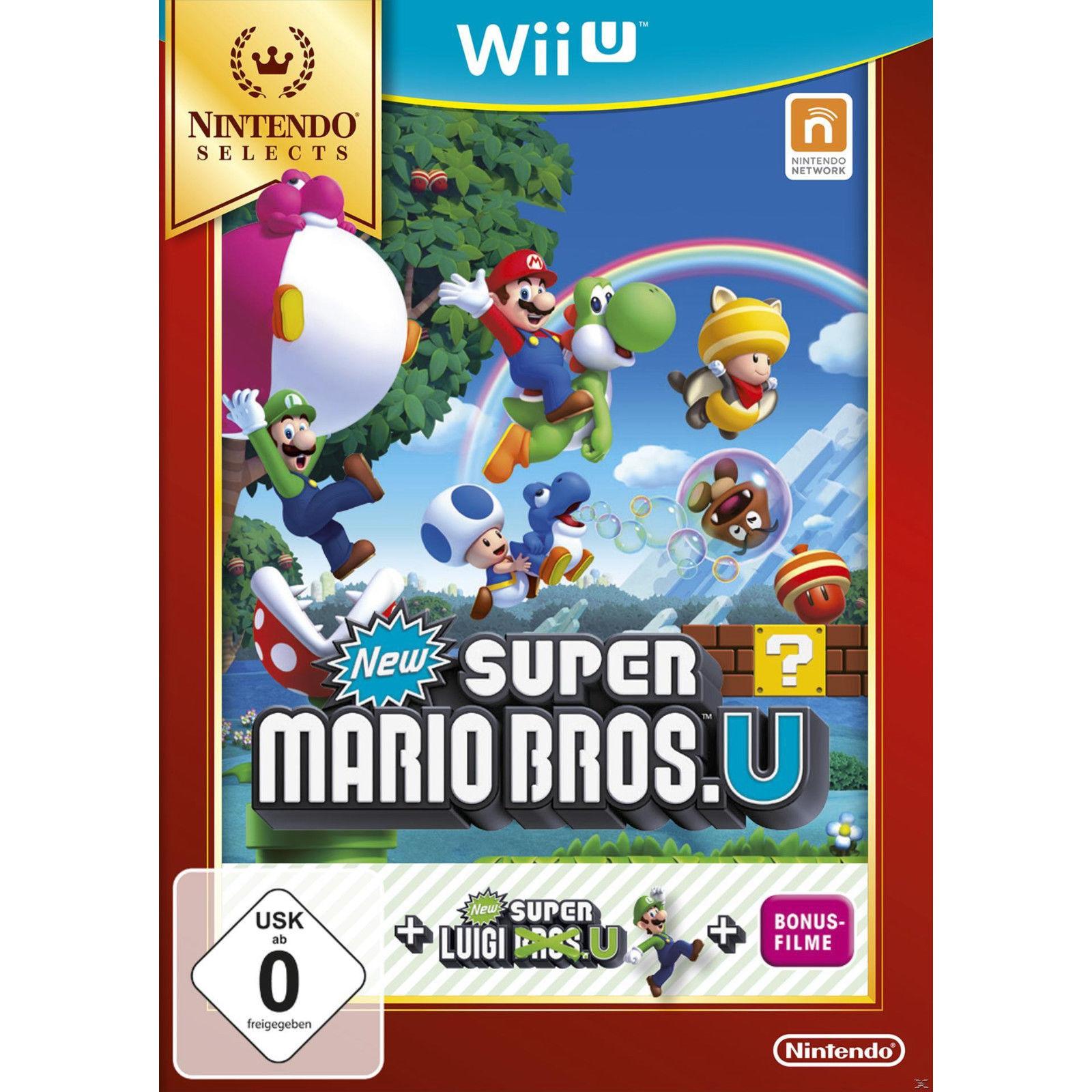 [Saturn.de/Ebay.de] New Super Mario Bros. U + New Super Luigi U (Nintendo Selects) oder Animal Crossing: amiibo Festival inkl. Figuren und Karten für Nintendo Wii U für jeweils 10 Euro.