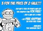 3 for the price of 2 sale! by qwertee