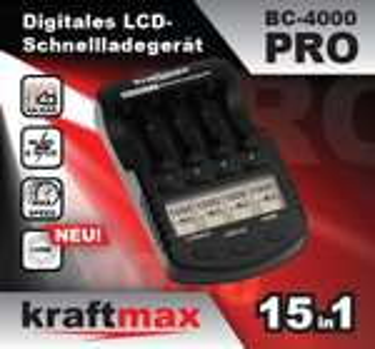 BC-4000 Pro Ladegerät passend zum Fujitsu Akkus / Eneloop Akku Deal