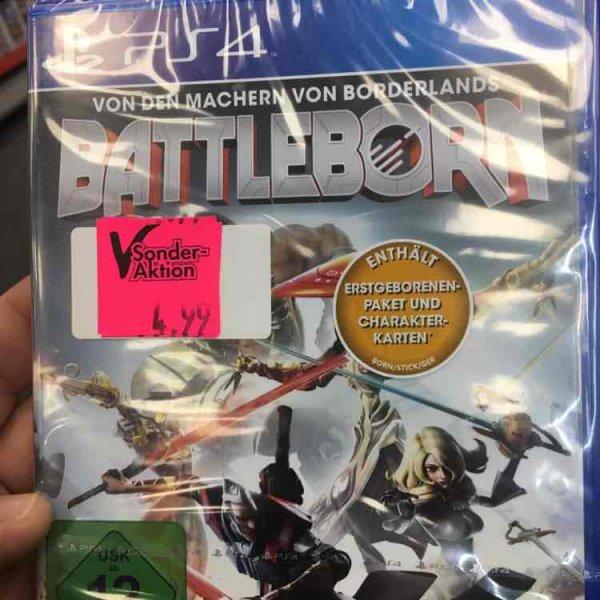 PS4 Spiel Battleborn für 4,99€ [Lokal Expert Hallstadt]