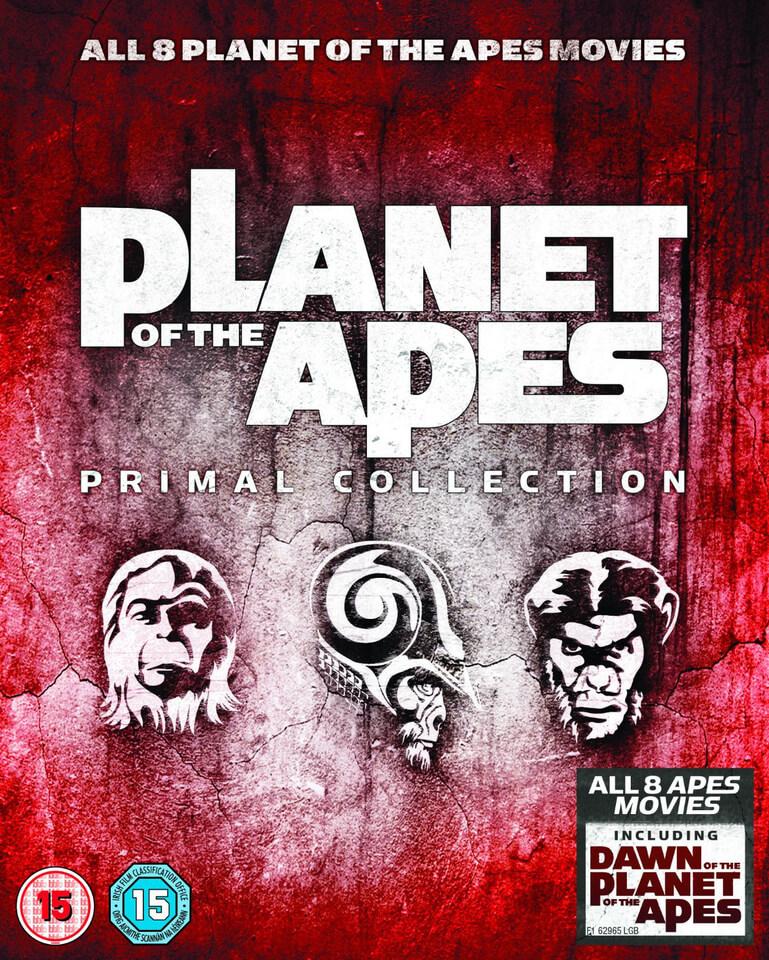 (Zavvi) Planet der Affen - Primal Collection (8x Blu-ray) für 19,39€